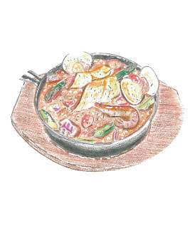 メバルのズッパディペッシェオマール海老スープ煮L